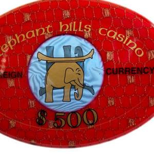 Elephant Hills Casino Chip - $500